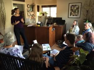 emily teaching at flu day(1)